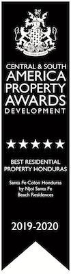 Americas Property Awards Winner 2019-2020 - Santa Fe Colon
